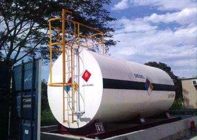 Abame - Tanque de almacenamiento de diesel